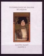 ÖSTERREICH BLOCK 22 ** GUSTAV KLIMT - JUDITH I - Blocks & Kleinbögen