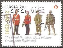 Canada - 2012 - Royal Hamilton Light Infrantry - YT 2773 Oblitéré - 1952-.... Règne D'Elizabeth II