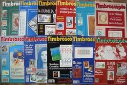 REVUE TIMBROSCOPIE Année 1991 Complète (n°76 à 86). - Magazines