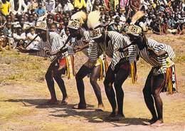 Afrique-CÔTE D'IVOIRE  Danse Yacouba Gatan De Gbele Par Logoualé Timbre Stamp SURCHARGE DU BENIN  (TRICHET ) - Ivory Coast