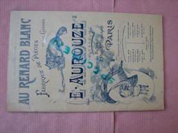 Pieges En Tous Genres (Chasse, Peche, Etc..) Catalogue Aurouze Vers 1900/1910 Comme Neuf - France