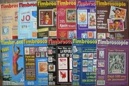 REVUE TIMBROSCOPIE Année 1992 Complète (n° 87 à 97). - Magazines