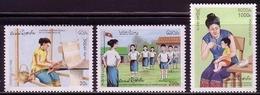 LAOS MI-NR. 1509-1511 ** INTERNATIONALER FRAUENTAG 1996 - Laos