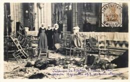 Ostende - Carte-Photo Mère - 1914-1918 - Intérieur De L' Eglise St. Pierre Et Paul - 12 Novembre 1917 - Oostende