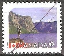 Canada - 2014 - Parc National Du Gros-Morne - YT 2954 Oblitéré - 1952-.... Règne D'Elizabeth II