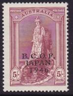 Australia 1946 B.C.O.F. SG J7 Mint Never Hinged - Japan (BCOF)