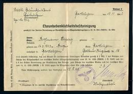 Eheunbedenklichkeitsbescheinigung Vom 19.11.1942 - Documents