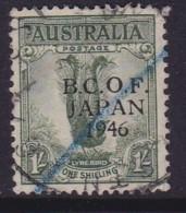 Australia 1946 B.C.O.F. SG J5 Used - Japan (BCOF)