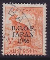 Australia 1946 B.C.O.F. SG J1 Used - Japan (BCOF)
