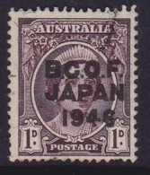 Australia 1946 B.C.O.F. SG J2 Used - Japan (BCOF)