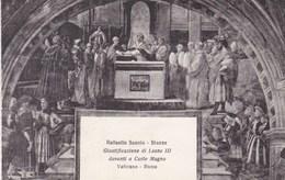Vaticano Roma, Raffaello Sanzio, Giustificazione Di Leope III Davanti A Carlo Magno (pk53197) - Vatican