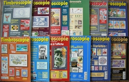REVUE TIMBROSCOPIE Année 1994 Complète (n°109 à 119 + Hors-série N°1H) - Magazines