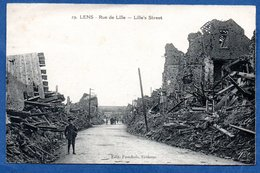 Lens  -  Rue De Lille - Lens
