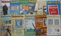 REVUE TIMBROSCOPIE Année 1996 Complète (n° 131 à 141). - Magazines