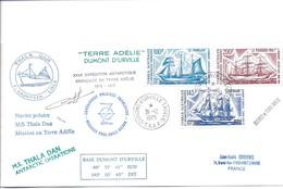 TAAF Base Dumont D'Urville Cachet Du 31/12/1975 - Terres Australes Et Antarctiques Françaises (TAAF)