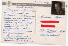 GRAN BRETAGNA 1985 - DAVID NIVEN - TARBET HOTEL - LOCH LOMOND - 1952-.... (Elisabetta II)