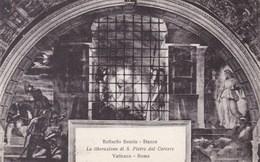 Vaticano Roma, Raffaello Sanzio, La Liberazione Di S Pietro Dal Carcere (pk53200) - Vatican