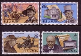 ISLE OF MAN MI-NR. 48-51 ** 100. GEBURTSTAG SIR WINSTON SPENCER CHURCHILL - Sir Winston Churchill