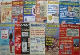 REVUE TIMBROSCOPIE Année 1997 Complète (n° 142 à 152). - Magazines