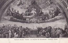 Vaticano Roma, Raffaello Sanzio, La Disputa Del Sacramento (pk53201) - Vatican