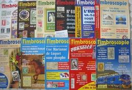 REVUE TIMBROSCOPIE Année 1998 Complète (n° 153 à 163). - Magazines