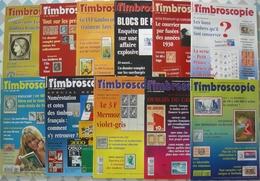 REVUE TIMBROSCOPIE Année 1999 Complète (n° 164 à 174). - Magazines