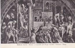 Vaticano Roma, Raffaello Sanzio, L'incendio Del Bergo Vecchio (pk53202) - Vatican