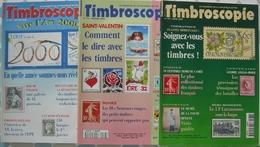 REVUE TIMBROSCOPIE Année 2000 Complète (n° 175 à 177). - Magazines