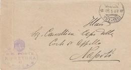 Polla. 1931. Annullo Frazionario ( 57 - 155) + RR POSTE R.PRETURA DI POLLA, Su Franchigia Con Testo. - 1900-44 Vittorio Emanuele III