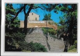 MARCHE - RECANATI - COLLE DELL'INFINITO - VIAGGIATA 1996 FRANCOBOLLO ASPORTATO - Italia