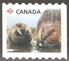 Canada - 2014 - Castor - YT 2965 Oblitéré - 1952-.... Règne D'Elizabeth II