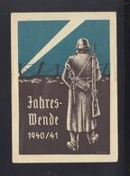 Dt. Reich PK Jahreswende 1940/41 - Guerra 1939-45
