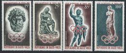 Haute-Volta YT PA 14-17 XX / MNH Jeux Olympiques Sport Grèce Antique - Haute-Volta (1958-1984)