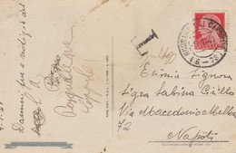 Mugnano Del Cardinale. 1941. Annullo Frazionario ( 6 - 73) + Tassazione T, Su Cartolina Illustrata - 1900-44 Vittorio Emanuele III