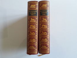 FABLES DE LAFONTAINE TOME 1 ET 2 EDITION JEAN DE BONNOT 1969 TRÈS BON ETAT - Poesie