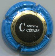 CAPSULE-928 -CHAMPAGNE Série Des 9 Lettres De CHAMPAGNE C- Cépage - Autres
