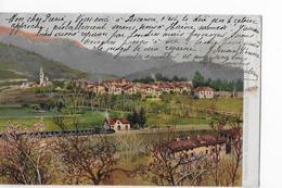FERROVIA MENAGGIO-PORLEZZA → Cartolina Bella, Vecchia E Rara Anno 1906 - TI Tessin