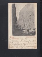 Serbia PPC  Road Nisch Pirgl 1899 - Serbia