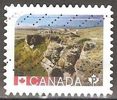 Canada - 2016 - Précipice à Bisons - YT 3210 Oblitéré - 1952-.... Règne D'Elizabeth II