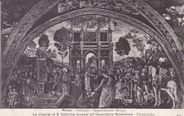 Vaticano Roma, Appartamento Borgia, La Disputa Di S Caterina Innanzi All' Imperatore Massimino (pk53208) - Vatican