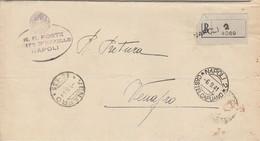 Venafro. 1941. Annullo Frazionario ( 15 - 133), Su Lettera Raccomandata In Franchigia, Completa Di Testo. - 1900-44 Vittorio Emanuele III