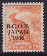 Australia 1946 B.C.O.F. SG J1 Mint Hinged - Japan (BCOF)