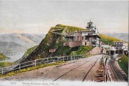 MONTE GENEROSO KULM → Cartolina Bella Anno 1906 - TI Tessin