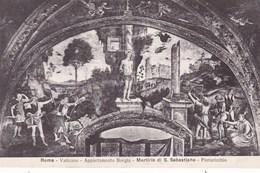 Vaticano Roma, Appartamento Borgia, Martirio Di S Sebastiano (pk53209) - Vatican