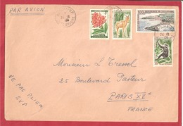 Y&T N°PA27+192A +++ABIDJAN    Vers  FRANCE 1963 - Côte D'Ivoire (1960-...)