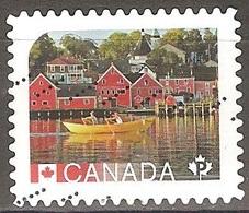 Canada - 2016 - Vieux Lunenburg - YT 3211 Oblitéré - 1952-.... Règne D'Elizabeth II