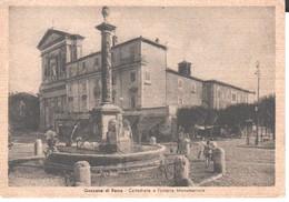 Roma- Genzano-albano-grottaferrata-fontana E Cattedrale---viagg 1951,animata - Altre Città