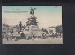 Bulgaria PPC 1916 Sofia Monument Tzar Alexandre II - Bulgaria