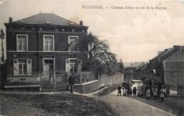 Namur - Flawinne - Château Adam Et Rue De La Station - Namur