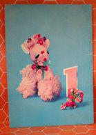 Pecora Pupazzo Numero 1 Cartolina 1968 - Giochi, Giocattoli